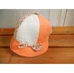 リボン付きベビー帽子